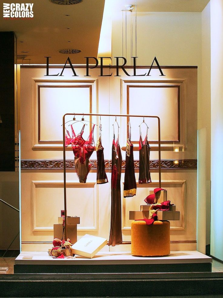 La Perla window display