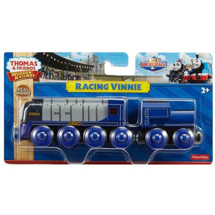 wooden railway vinnie | Buy Thomas and Friends Wooden Railway Racing Vinnie Online at Toy ...