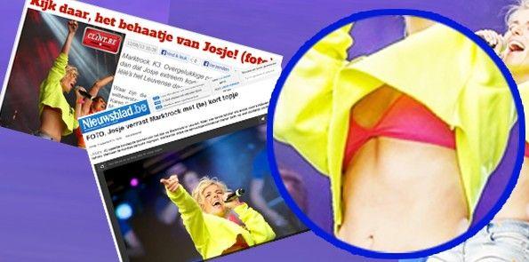 Josje Huisman mooi met kort topje | showvandaag.nl
