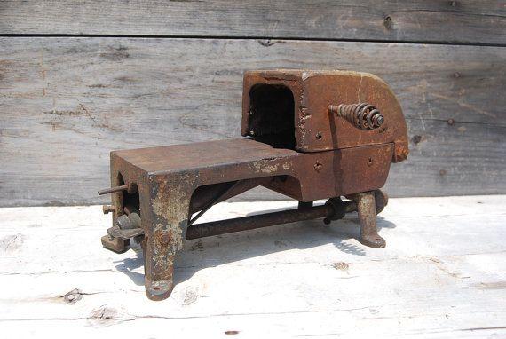 1914 Vintage Bench Furnace No. 1 Johnson Gas by Psychedelphia