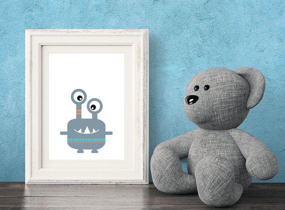 Monster Printable Art
