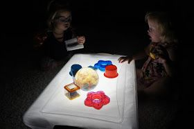 Three Little Bees!: Light Table Therapy