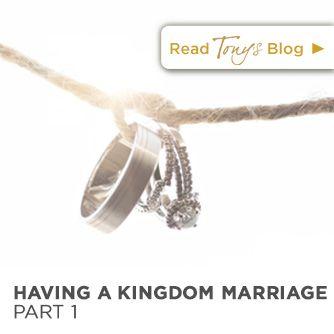 Tony Evans | Having a Kingdom Marriage, Part 1 | http://tonyevans.org