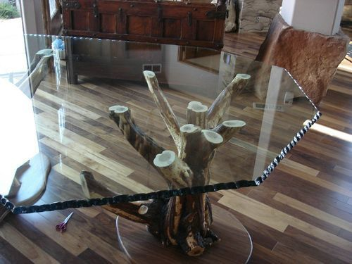 Custom Wood And Glass Table Tops