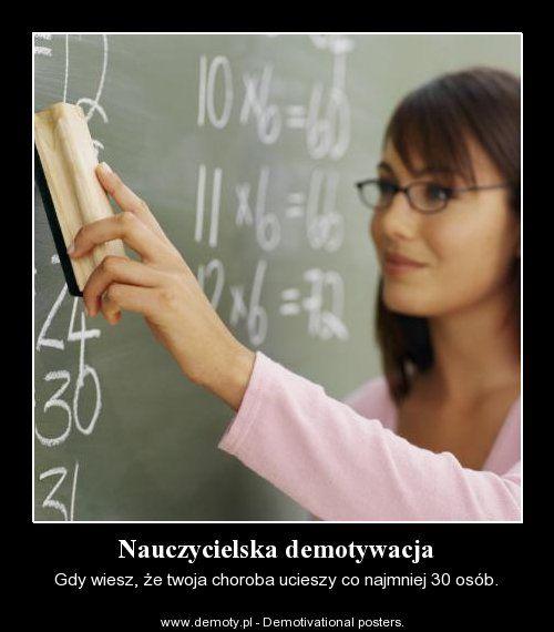 Nauczycielska demotywacja