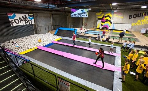 Bounce Inc - Glen Iris - Sports - Trampoline Playground Melbourne