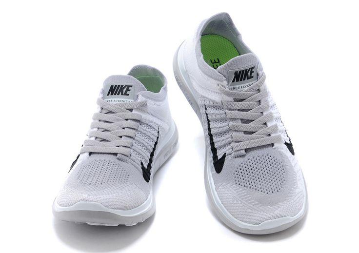 Nike Free 4.0 Flyknit Women Grey Black - Cheap Jordan 11 and Retro ...
