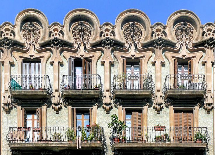 2612 best art and architecture art nouveau images on for Architecture celebre