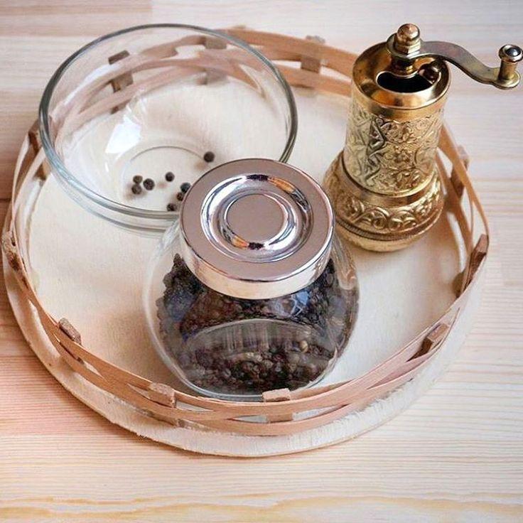Montessori practical life -- food preparation, grinding peppercorn