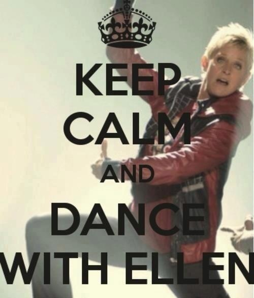 Dance on the Ellen DeGeneres Show