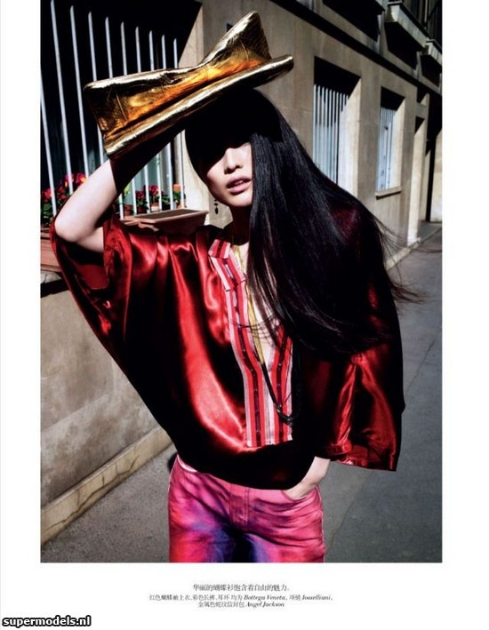 Sui He in 'Exotic Chic' - Photographed by Cedric Buchet (Vogue China June 2012)    Complete shoot after the click...