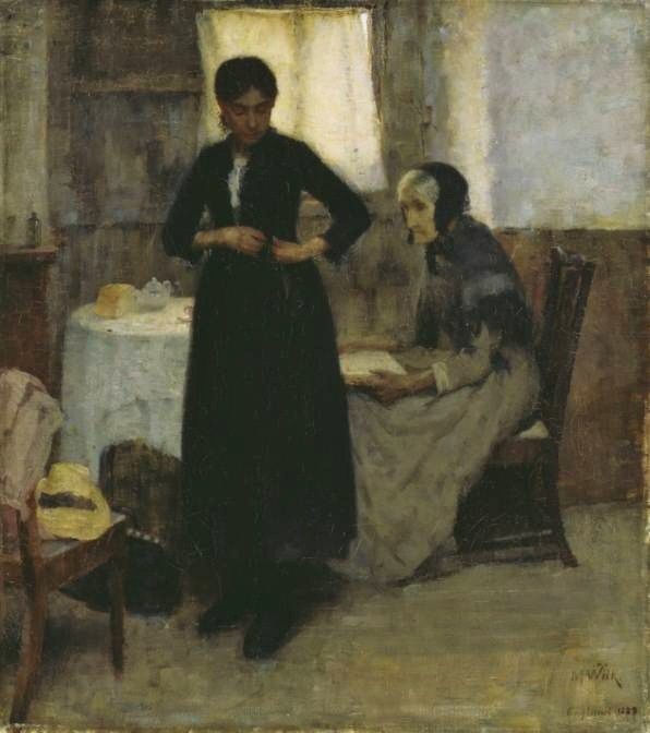 MARIA WIIK  Out Into the World (1889)