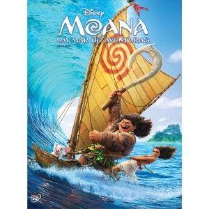 PREVISÃO DE LANÇAMENTO: 19/04/2017   Embarque uma épica aventura sobre a destemida Moana, a jovem que sai para velejar em uma ousada missão para salvar o seu povo. Durante a jornada, ela conhece o poderoso semideus Maui e, juntos, eles vão cruzar o oceano numa viagem divertida, cheia de ação, emoção e humor.  Formato de Tela: Widescreen Anamorfico 2,39 (16:9) Áudio: Dolby Digital 5.1 Português, Inglês Legendas: Inglês, Português
