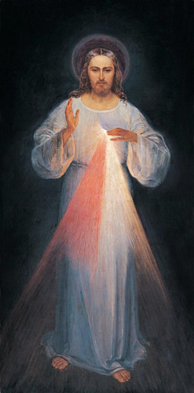 Divine Mercy Prayer Novena: Most compassionate Jesus, You are the Light of the world. Receive into Your Heart the souls of those who do not believe in God and of those who as yet do not know You.