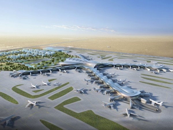 Abu Dhabi Airports stunning Midfield Terminal.......!