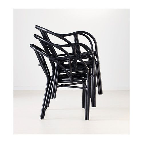 HOLMSEL Chair - black - IKEA