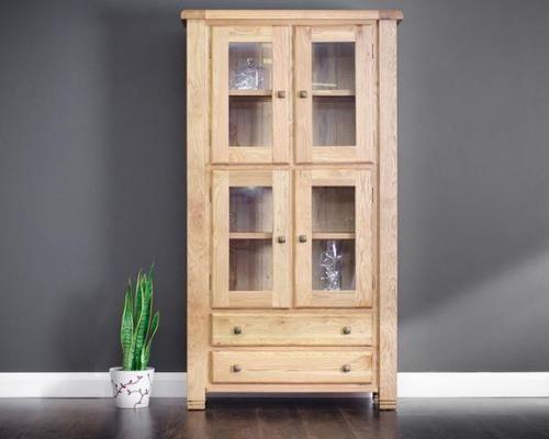 Donny, display cabinet , oak