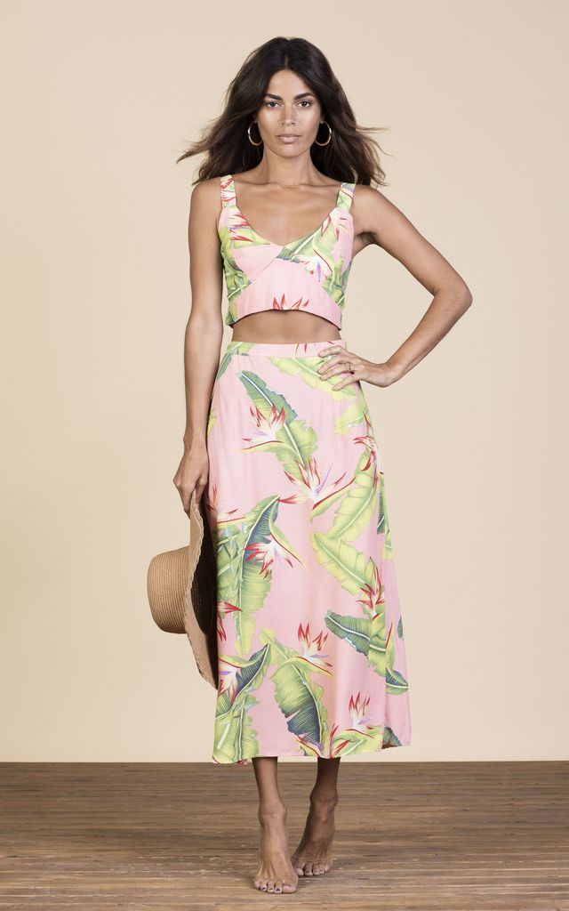 Click to view Ariel Skirt in Pink Banana