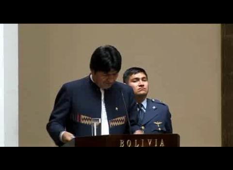 Evo Morales expropia la filial de Red Eléctrica Española