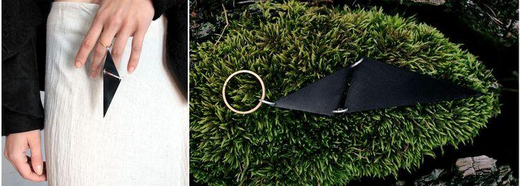 "#ring #chaos #black #fashion  ""Chaos"" ring"