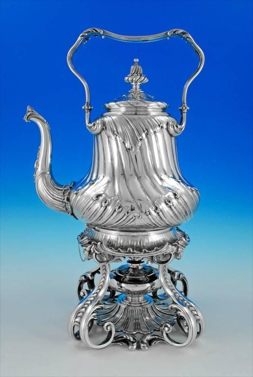 odiot SILVER | Odiot, an Outstanding Silver Tea and Coffee Set For Sale ...