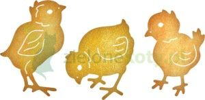 Wykrojnik Cheery Lynn Chicks kurczaczki