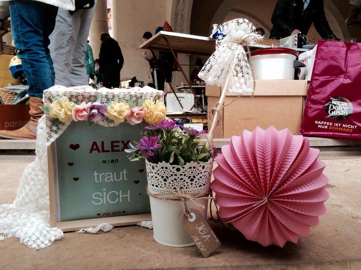#Flohmarktstand #JGA #Teil1 #Alex #größterBauchladen #WirbrauchendasGeld #Wirhabengroßesvor #