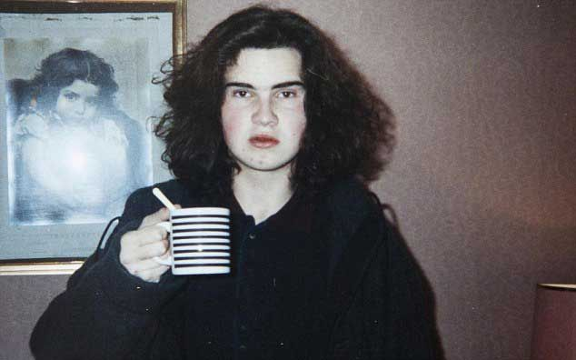 A Young Jimmy Carr Well That S Unfortunate
