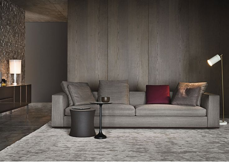 Minotti | Powell is welcoming, refined and informal | more inspiring images at www.diningandlivingroom.com