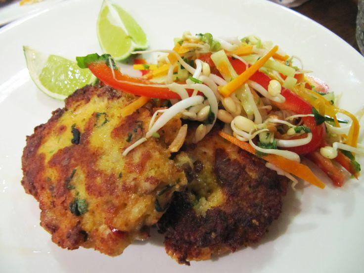 (Seiti-)kalapihvit ja thaisalaatti: Kipparin morsian