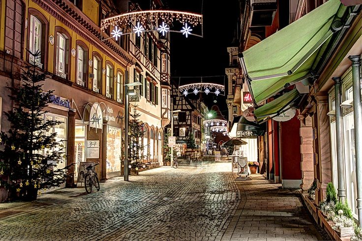 christmas time in Lahr/Schwarzwald in the south of Germany