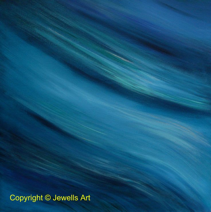 The Blues Original Painting by Julia Underwood