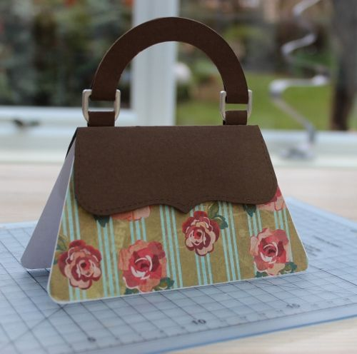 handbag card + tutorial