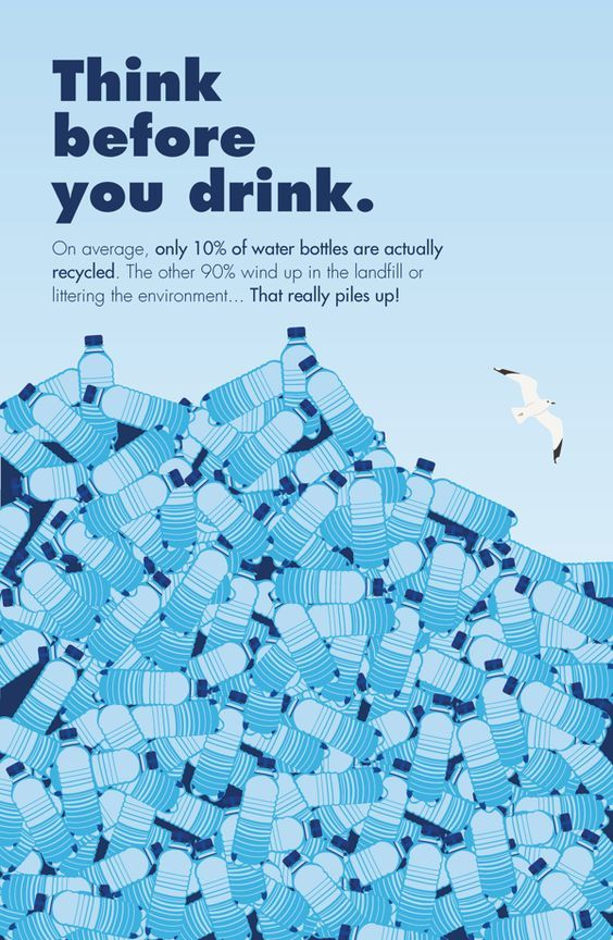 truth about water bottles poster - Google Search: