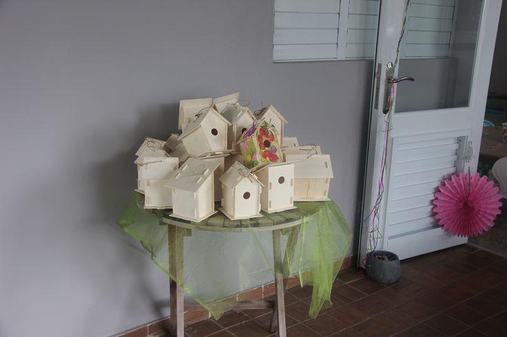 Paint a Fairy House! These was an entertain for kids. Paint your Fairy House! You can buy Fairy House @ Oriental Traiding.com