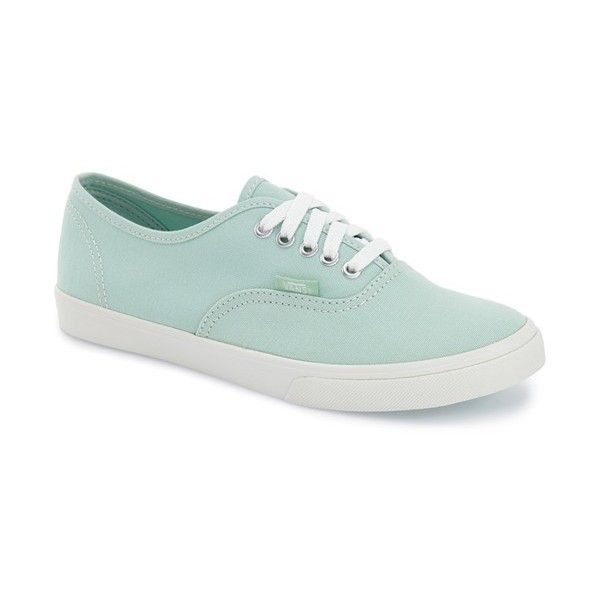 Women's Vans 'Authentic - Lo Pro' Sneaker ($45) ❤ liked on Polyvore featuring shoes, sneakers, vans, vans shoes, canvas shoes, vans trainers, vans sneakers and vans footwear