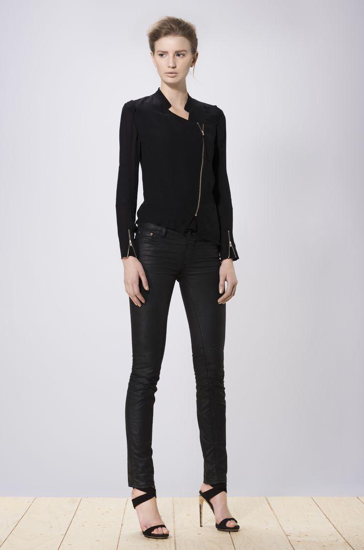 Chei blouse black