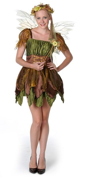 forest fairy women Halloween costume idea