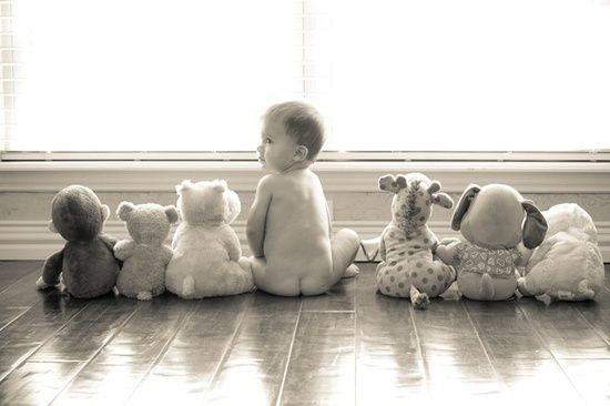 Baby Photo Inspiration - Stuffed Animals and Favorite Toys