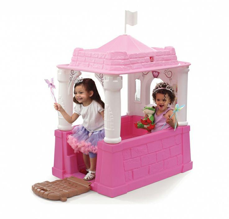Step2 princess castle playhouse @walmart #kids #Step2 #princess #castle #playhouse #pink