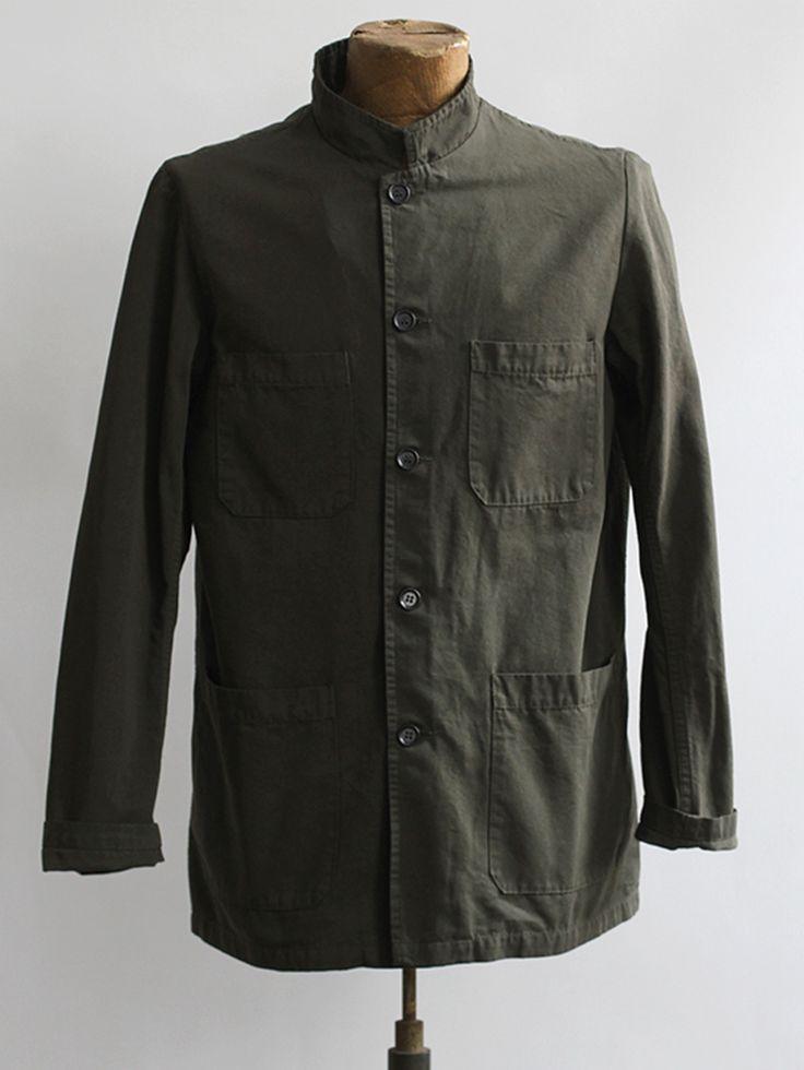 Vetra Khaki Jacket [Vetra Khaki Jacket] : ORN HANSEN, Vintage + American Made General Store