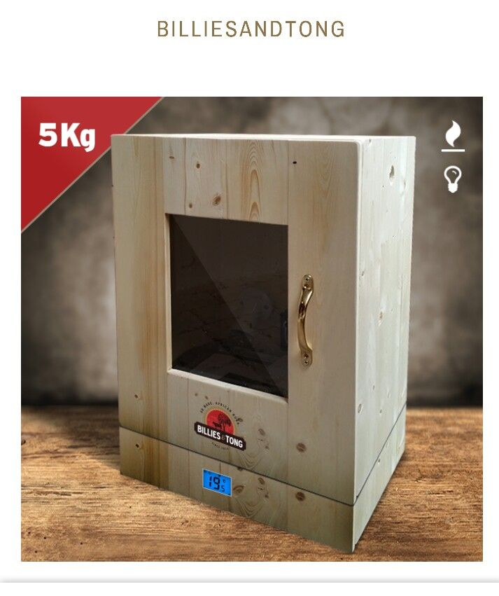 5kg temperature control biltong box