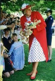 Diana and Charles visit Royal Botanical Gardens Melbourne