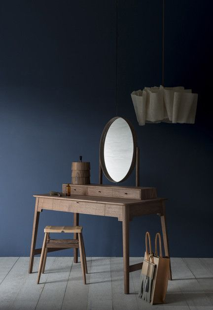 Wooden Dressing Table 'Lana' by Pinch Design. Interior Design, Home Decor, Interior Styling, Home Inspiration, Home Styling, Interior Trends, Design Trends, Design Furniture, Interior Accessories, Design for your Home, Decorating Ideas, Interior Design Blog, Living, Styling, Design. http://whatiwouldbuy.com/DRESSING+TABLE+DESIGN