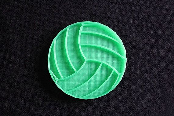 Mini Volleyball Image Press 2 by PlasticsinPrint on Etsy, $6.50