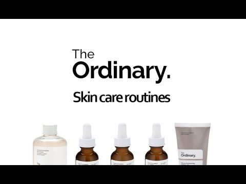 THE ORDINARY SKINCARE ROUTINES - FROM ACNE TO WRINKLES!!!! - YouTube