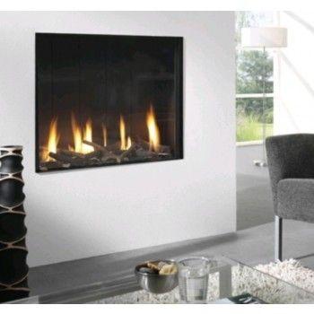 De #Element4 Optica is een royale inbouw #gashaard. #Gaskachel #Kampen #Interieur #Fireplace #Fireplaces