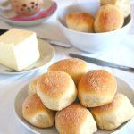Try these pandesal recipe, Filipino version of bread rolls that are slightly sweet, soft and dusted lightly with bread crumbs and then baked to perfect golden brown.