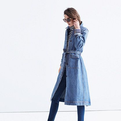 Rivet & Thread Denim Duster Coat