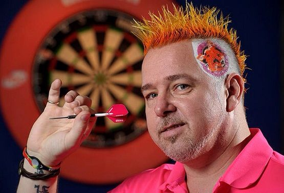 Snakebite Peter Wright